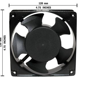 Hari Impex 120mm Axial Fan with 220V AC Supply Voltage