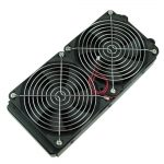 120 * 240 mm Radiator Fan and Grill Combo Set